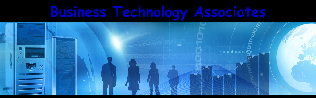 Business Technology Associates homepage banner
